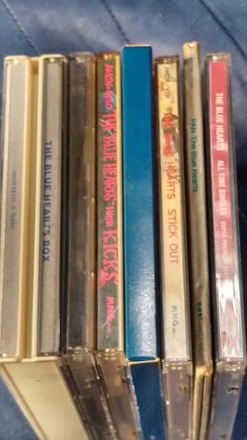 THE BLUE HEARTS(ブールハーツ) アルバム6枚セット+おまけ  < タレントグッズの
