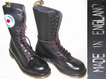 ドクターマーチン新品イングランド英国製14ホール1940TGT黒