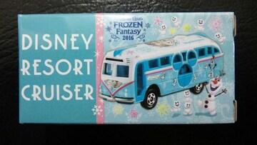 ディズニー TDL フローズンファンタジー リゾートクルーザー オラフ スノーギース バス アナ雪
