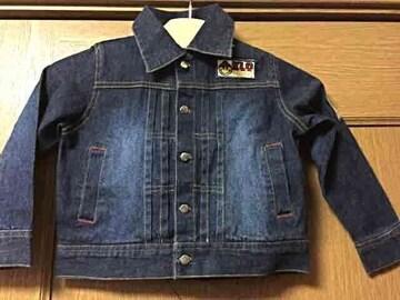新品☆s(90-100cm)KLCブランドデニムジャケット ジージャン