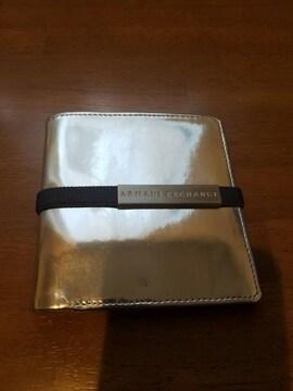 A/Xシルバー財布