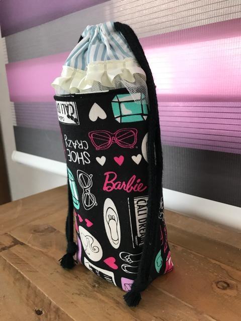 Barbie バービー 保冷保温アルミ ペットボトルケース < キッズ/ベビーの