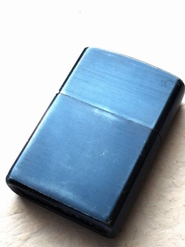 ZIPPO カバー仕上げ  ブルー  ジッポライター
