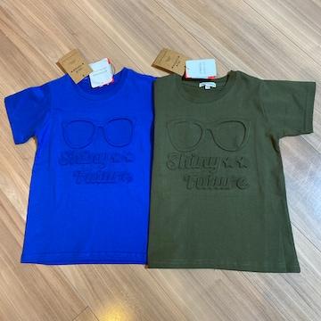 新品タグ付き110半袖Tシャツ2枚セット.25