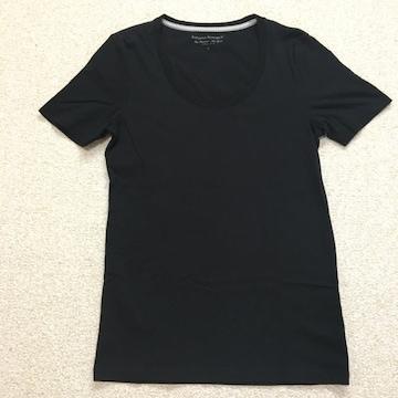 【送料無料】バナナリパブリック メンズ 半袖Tシャツ 黒 サイズS