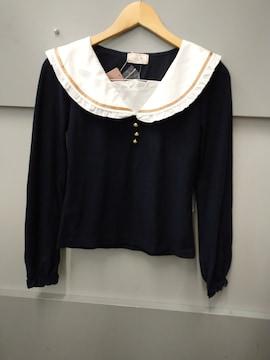 Penderie☆セーラー襟長袖トップス