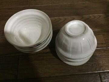 和食器 白 小鉢 ミニ茶碗 高台付 6個セット