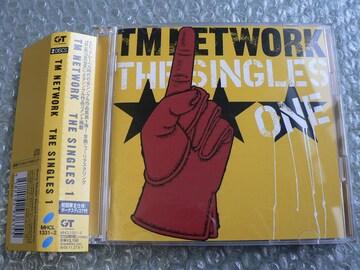TM NETWORK『THE SINGLES 1』初回盤【2CD】ベスト小室哲哉他出品