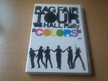 RAG FAIR DVD「TOUR'08 HALL Rally〜カラーズ〜」ラグフェアー●