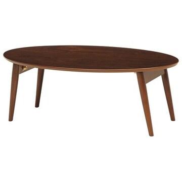 折れ脚テーブル(ブラウン) MT-6925BR