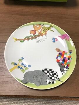 デビッドマッキー直径19.5cm david mckee皿プレート幸せを呼ぶ象