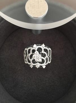 ジョルジオ ヴィスコンティ ダイヤモンド リング K18WG 2.51ct