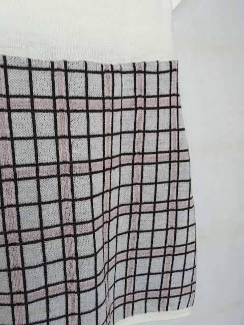 LDprime 甘カワ 半袖 セーター トップス 38 ミニワンピース N2m < ブランドの