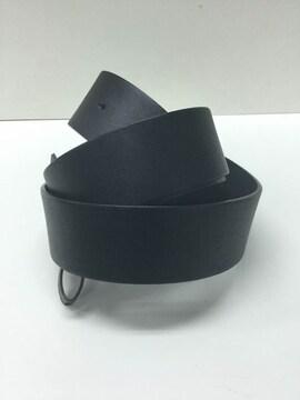 ビッグサイズ 新品バックル用 無地革ベルト XL (106-111CM)