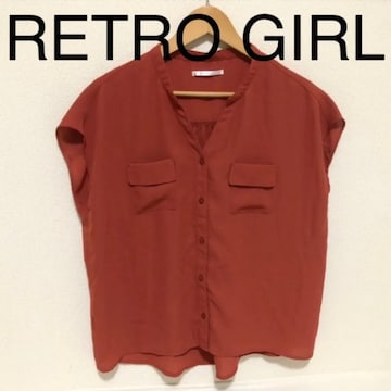 RETRO GIRL シフォンブラウス