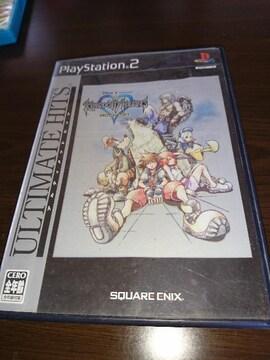 PS2!箱説あり!キングダムハーツ ファイナルミックス!