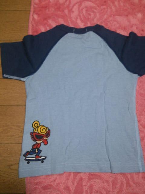 ★ヒスミニ★半袖Tシャツ★100★水色 < ブランドの