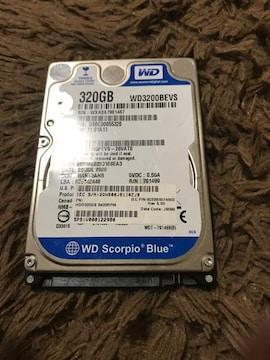 320GB ハードディスク 中古 ジャンク