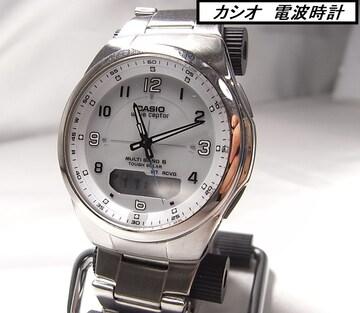 本物確実正規カシオ 電波時計 メンズWVA-M600