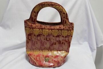 ☆ANNA SUI☆アナスイ PVCキャンバスアジアン柄バッグ