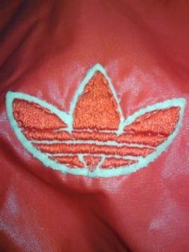 adidas アディダス レトロ ライダース ジャケット ジャンパー レッド ホワイト Oサイズ