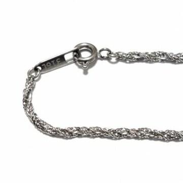 1.5mm 55cm ステンレス ワイヤーロープ ネックレスチェーン