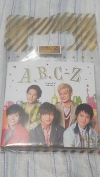 必見ABC-Z 2018 ジャニーズ伝説レコードメモ顔写真入リ美品貴重