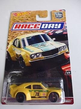 ホットウィール RACE DAY MAZDA RX-3 マツダサバンナ旧車レースデイ