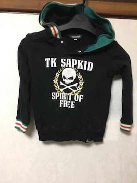 TK SAPKID/セットアップ/パーカー/スカル/ブラック/100cm