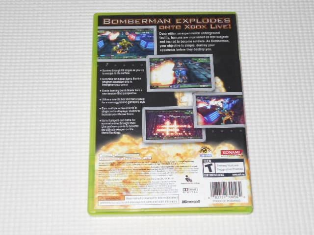 xbox360★BOMBERMAN Act Zero 海外版(国内本体動作不可) < ゲーム本体/ソフトの