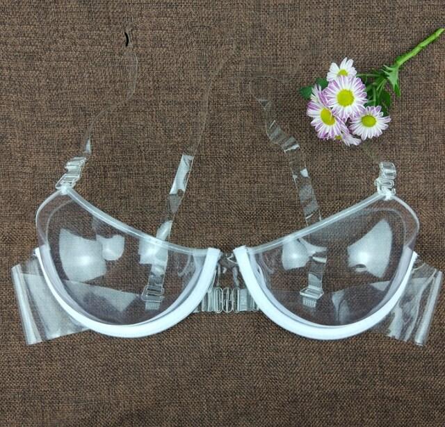 着けてないような透明ブラジャー B42  < 女性ファッションの