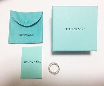 Tiffany & Co☆インターロッキング サークルリング☆