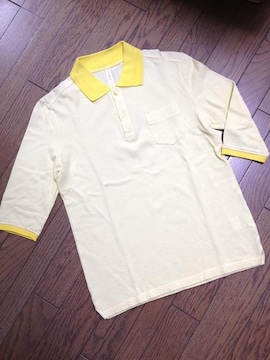 美品MofM 5分丈ポロシャツ 日本製 ステュディオス
