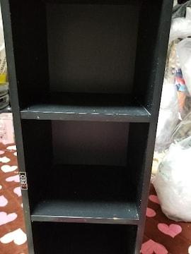 3段棚 ブラック、ホワイト