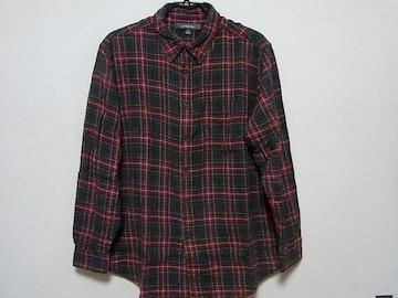 即決USA古着●croft&barrowチェックデザインネルシャツ!アメカジ・ヴィンテージ
