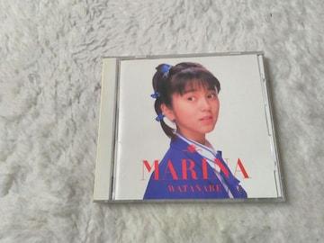 CD 渡辺満里奈 MARINA 全12曲 '87/2 帯無