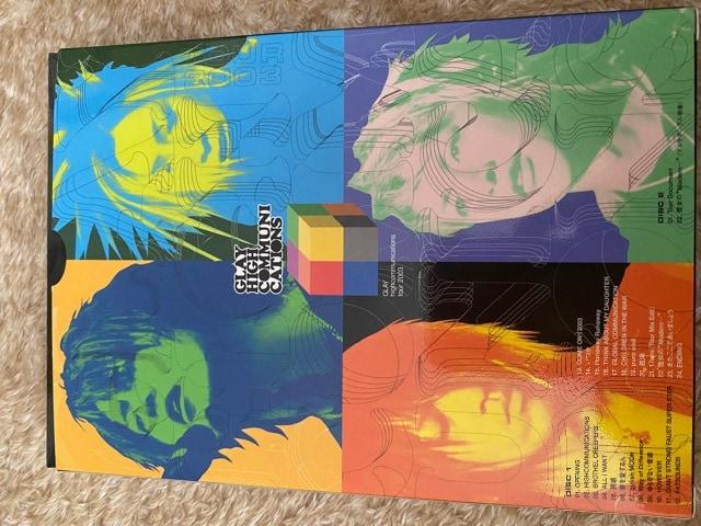 GLAY 2003 2枚組DVD!激レア!フルセット、