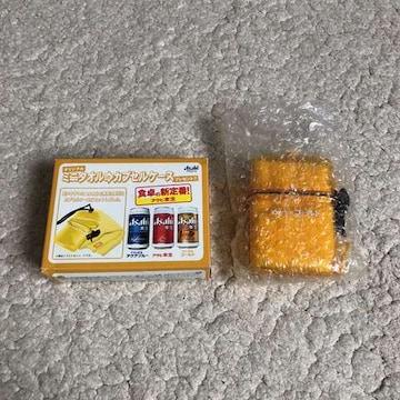 Asahi オリジナルミニタオル カプセルケース アサヒビール