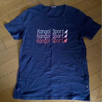 *KANGOL SPORT *ロゴTシャツ *L