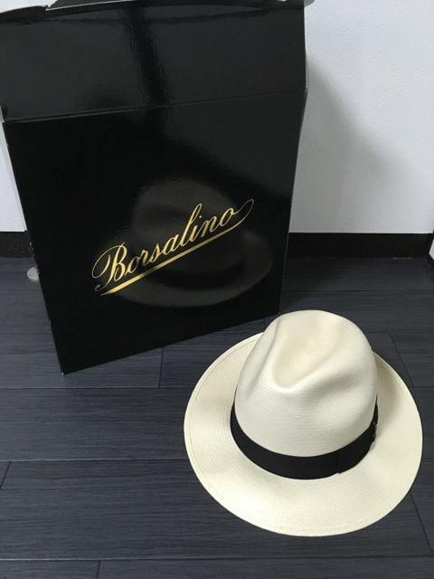 ボルサリーノ Borsalino パナマハット エクストラファイン  < 男性ファッションの