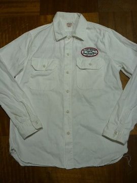 クーティーワークシャツ COOTIEロカビリークリームソーダ50's