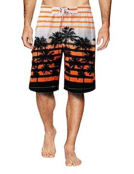 メンズ サーフパンツ オレンジ