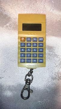 レア 珍品 ビンテージ キャノン ミニ 電卓 キーホルダー Canon