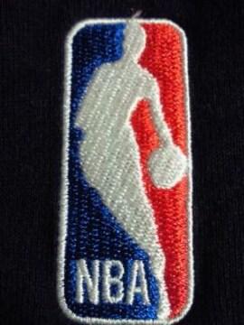 adidas アディダス バスケットボール NBA 刺繍 トレーナー ブラック XO