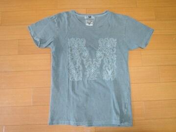 M エム × Yellaw カットソー S ピグメント加工 Tシャツ TMT