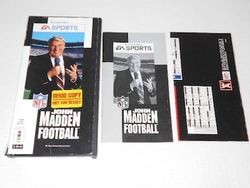 3DO★JOHN MADDEN FOOTBALL 海外版
