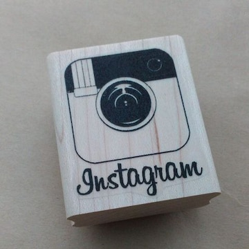 Instagramインスタグラム輸入ロゴスタンプ