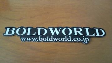 ボルドワールドBOLD WORLDステッカー非売品ヴェルファイア30アルファード クラウンLSセルシオ