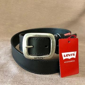 LEVI'S リーバイス 牛革 ベルト 35mm 6021 ブラック