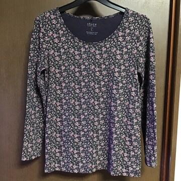 シュカ小花柄Tシャツ